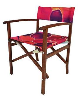 LOT chaises metteur en scène personnalisées