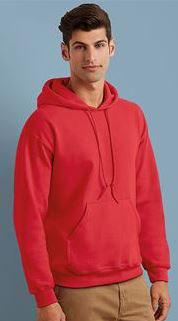 Lot Sweats capuche + Marquage 2 faces 1 couleur petit format + 1 couleur grand format