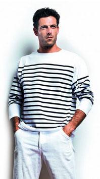 lot tee-shirt manches longues marinière + Marquage 1 couleur petit format