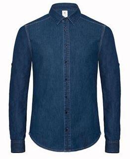 3 Chemises Homme B&C DENIM taille au choix