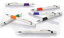 Lot stylos personnalisés en quadrichromie modèle au choix