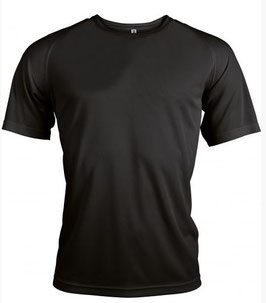 Lot Tee-shirts respirants + Personnalisation 2 Faces petit format 1 couleur + 1 format A4 max 1 couleur