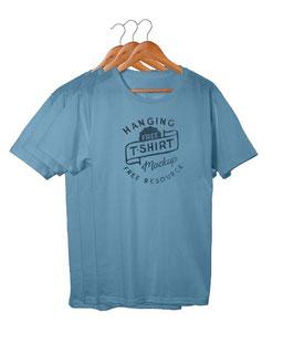 Lot de tee-shirts personnalisés couleur 1 Logo A4 1coul + 1 petit Logo Autre face même couleur