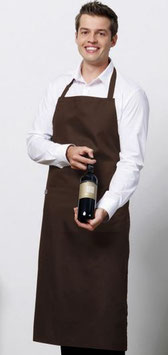 Tablier Bistro avec poche + Marquage 1 couleur 15x21cm max