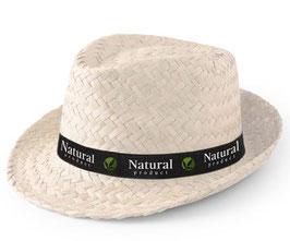 Lot de chapeaux Paille Kelio + Bandeau personnalisé