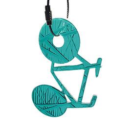 ampelhänger fahrrad grün