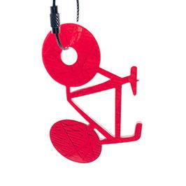 ampelhänger fahrrad rot