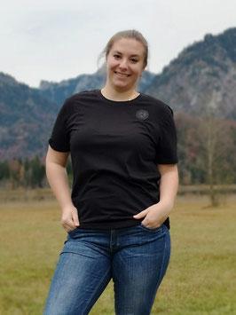 T-Shirt 2020 - schwarz - mit Silikon-Effekt-Logo