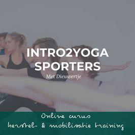 Cursus yoga voor sporters