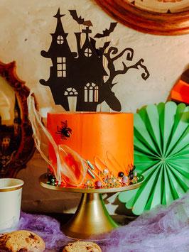 Schaurige & elegante Halloween DIY-Backbox