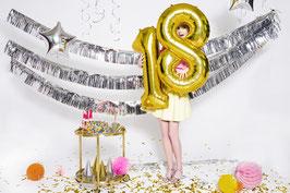 Folien Zahlenballon 0-9