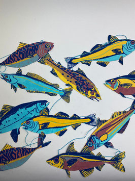 Girlande Fische