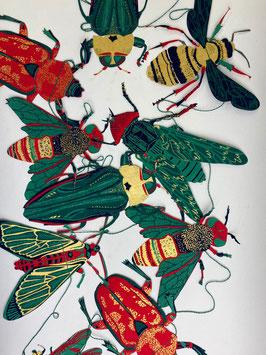 Girlande Insekten