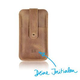 Phone Case N°246 mit deinen Initialen