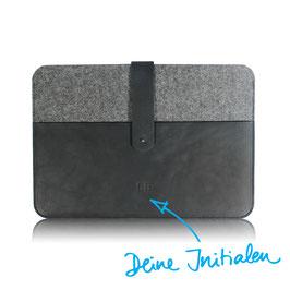 Notebook Case N°1410 mit deinen Initialen