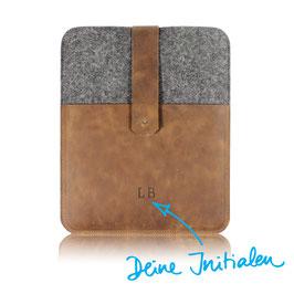 Tablet Case N°341 mit deinen Initialen