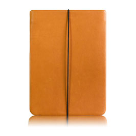 Notebook Hülle aus Leder ORANGE