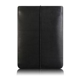 Notebook Hülle aus Leder SCHWARZ