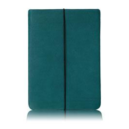 Notebook Hülle aus Leder PETROL