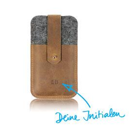 Phone Case N°241 mit deinen Initialen