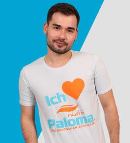 T-Shirt • Ich liebe Radio Paloma • Männer Blau