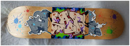 "Skateboard Custom ""Skate or Die"""