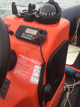 Mayday VHF/DSC & voice procedure sticker