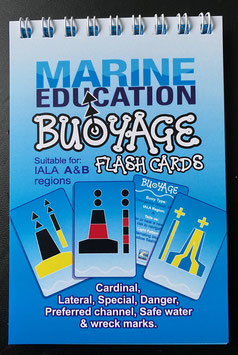 Buoyage Flash cards (IALA A & B) - Wire Bound Booklet
