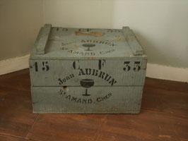 ワインコンテナボックス 木箱 グレー