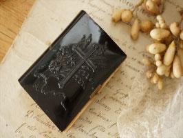 アンティーク聖書 黒エンボス