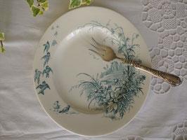 E.Bourjois 鳥のデザート皿