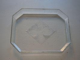 アンティークガラストレイ
