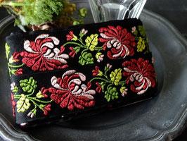 アンティーク刺繍リボンテープ 4cm巾