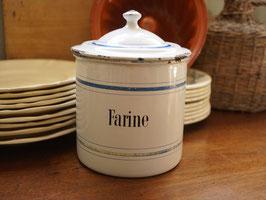 ホウロウキャニスター 1,5ℓ farine