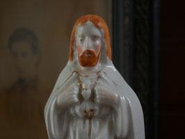 白磁 キリスト像