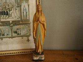 古いマリア像