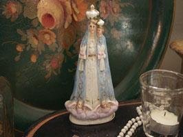白磁聖母子像