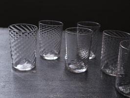 ねじりリキュールグラス