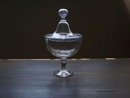 19世紀吹きガラス ボンボニエール