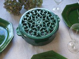緑鋳物 温め台 トリベット