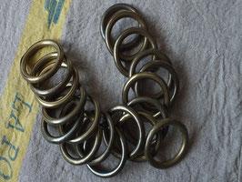 アンティークカーテンリング 真鍮