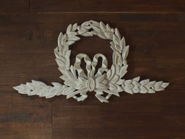 木彫りの壁飾り