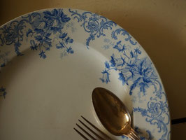 St-Amand ブルーの大皿