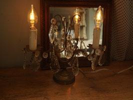 シャンデリア型スタンドランプ2灯