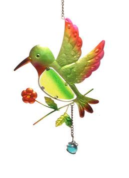 Fensterbild • Wandbild Vogel grün