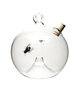 Fliegenfalle • Obstfliegenfalle hängend rund