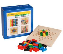 Steckspiel Steckbrett Holzsteckspiel STERN 12 x 12