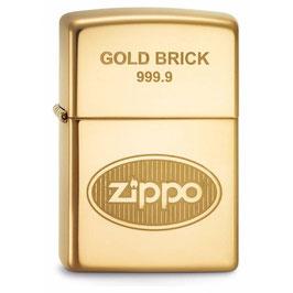 Feuerzeug ZIPPO 2548 GOLD BRICK
