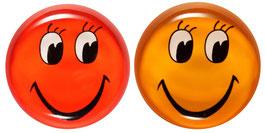"""Glasmagneten • Kühlschrankmagneten Set """"Smiley"""""""