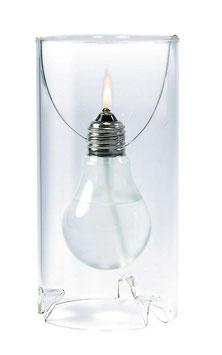 Öllampe THOMAS ALVA EDISON • Ölkerze in Glühlampenform